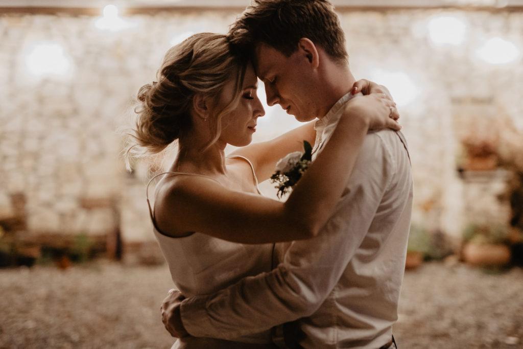 Romantyczny pierwszy taniec